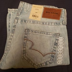 Big star pioneer boot jeans